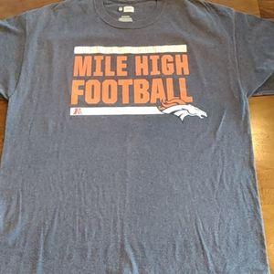 Denver Broncos Mile High Football T-Shirt